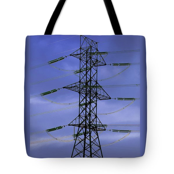 Electric Moment Tote Bag