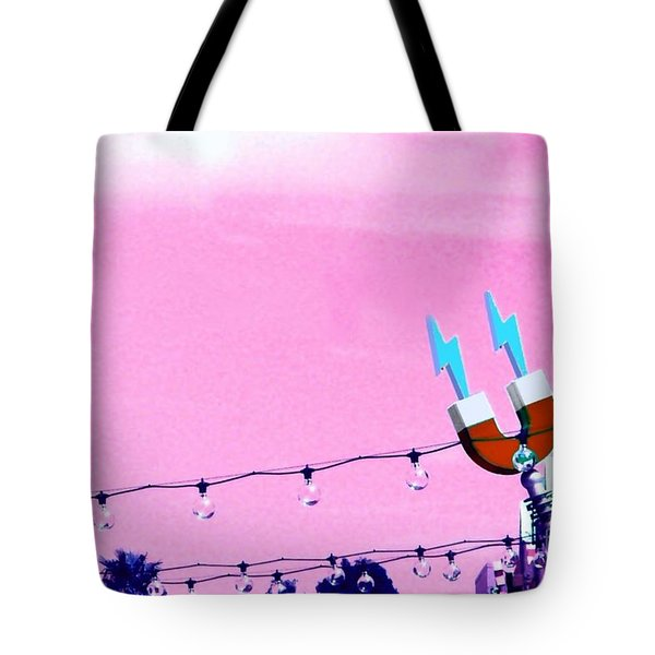 Electric Pink Tote Bag