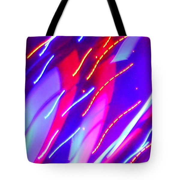 Electric Storm Tote Bag