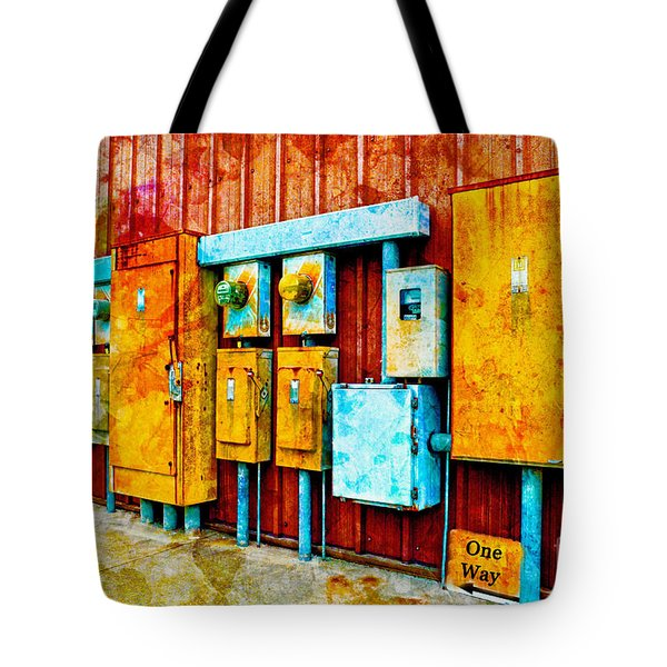 Electrical Boxes Iv Tote Bag