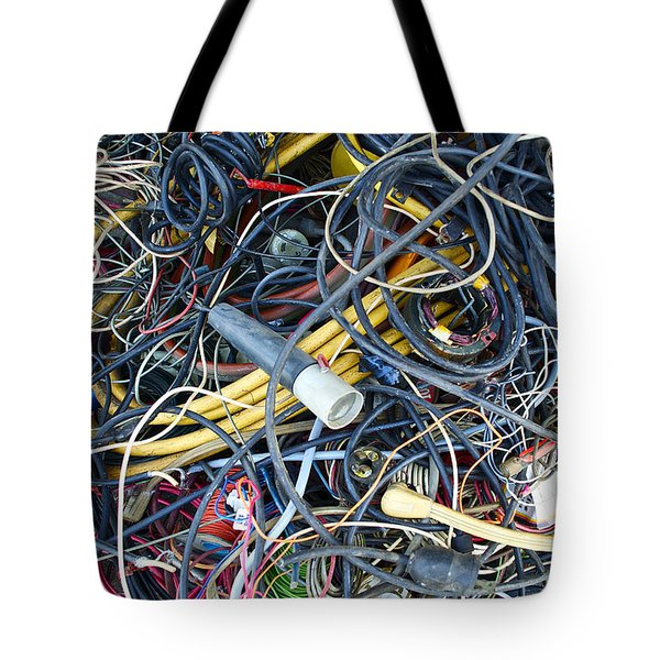 Electrical Cord Picking Tote Bag