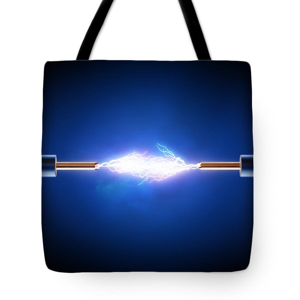 Electric Current / Energy / Transfer Tote Bag
