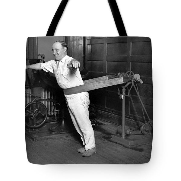 Electrical Vibrating Machine Tote Bag by Underwood Archives