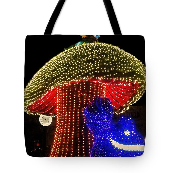 Electrical Wonderland Tote Bag by Benjamin Yeager