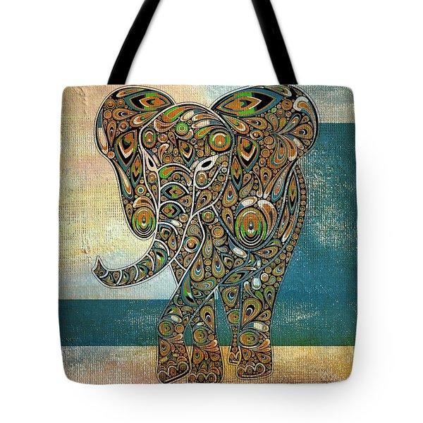 Elefantos - 01ac03at03b Tote Bag
