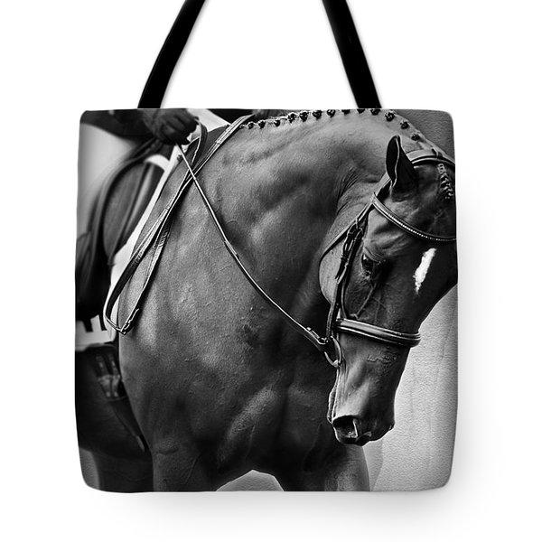 Elegance - Dressage Horse Tote Bag