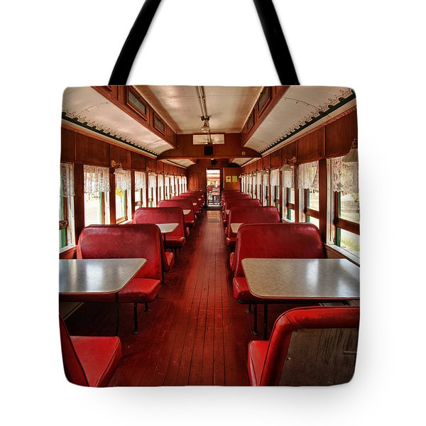 Elegance Past Tote Bag