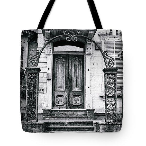 Elegance Past Tote Bag