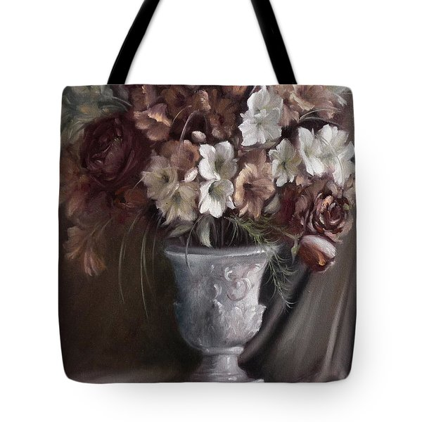 Elegant Bouquet Tote Bag