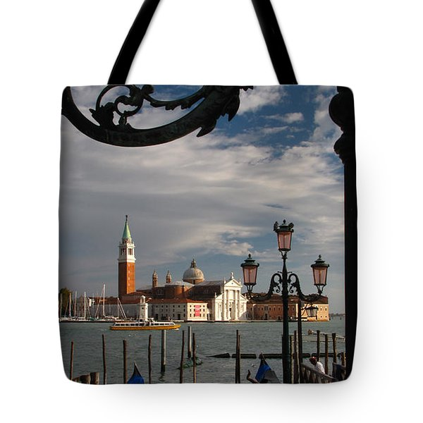 Elegant Lampost Tote Bag by Jennifer Wheatley Wolf