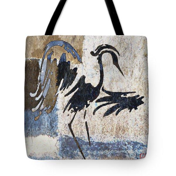 Elegant Movement Tote Bag by Carol Leigh