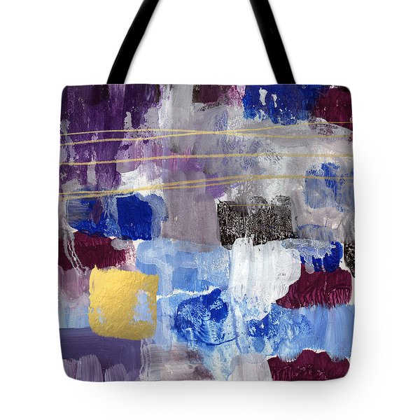Elemental- Abstract Expressionist Painting Tote Bag
