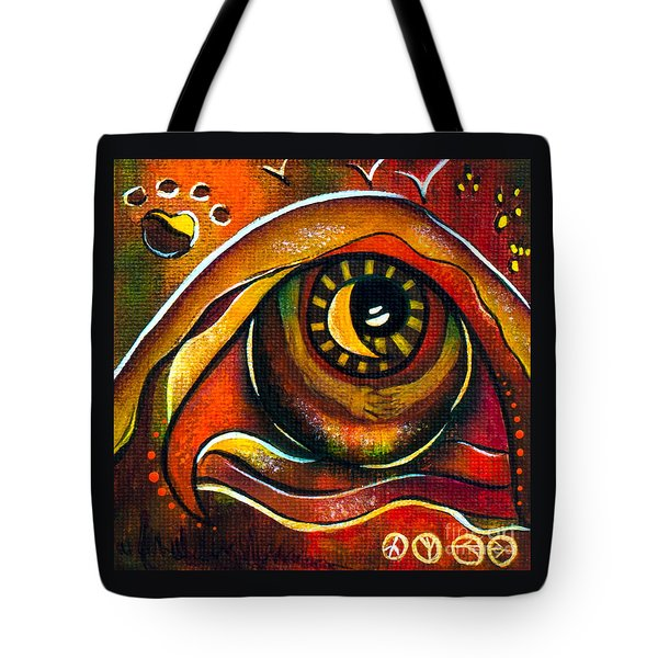Elementals Spirit Eye Tote Bag by Deborha Kerr