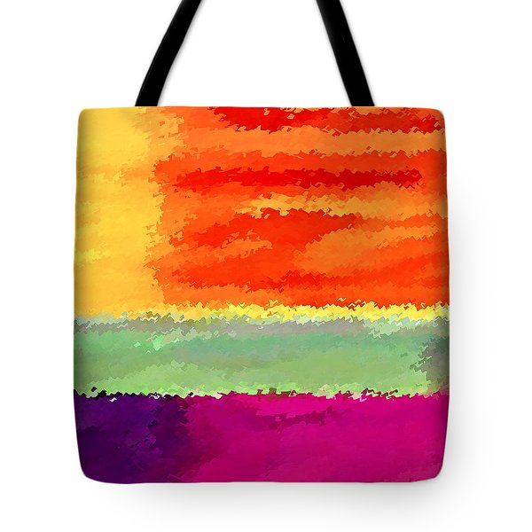 Tote Bag featuring the digital art Elements by David Manlove