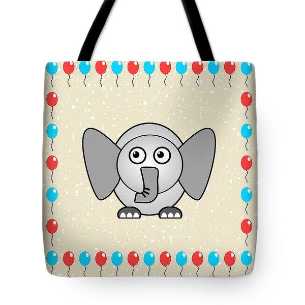 Elephant - Animals - Art For Kids Tote Bag