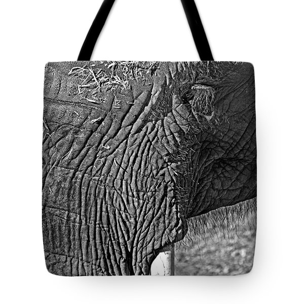 Elephant.. Dont Cry Tote Bag
