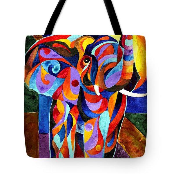 Elephant Dream Tote Bag
