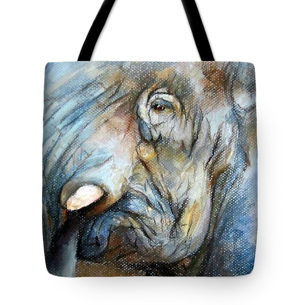 Elephant Eye Tote Bag