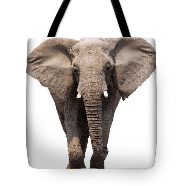 Elephant Isolated Tote Bag