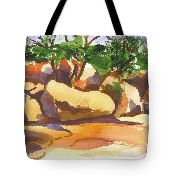 Elephant Rocks Revisited I Tote Bag