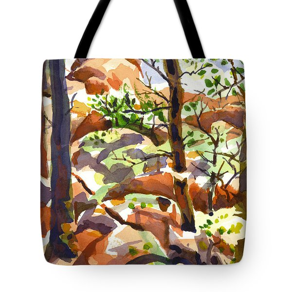 Elephant Rocks Revisited IIb Tote Bag by Kip DeVore