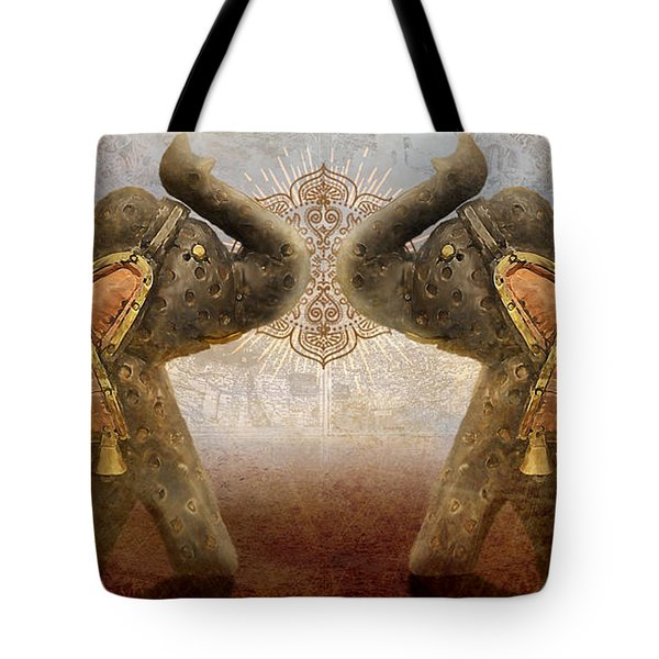 Elephants I Tote Bag