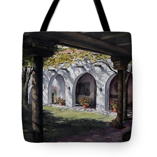 Elfrida Courtyard Tote Bag
