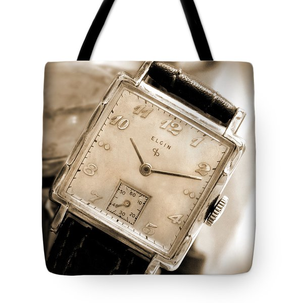 Elgin Watches Tote Bag by Mike McGlothlen