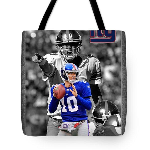 Eli Manning Giants Tote Bag