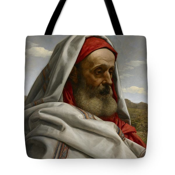 Eliezer Of Damascus Tote Bag by William Dyce