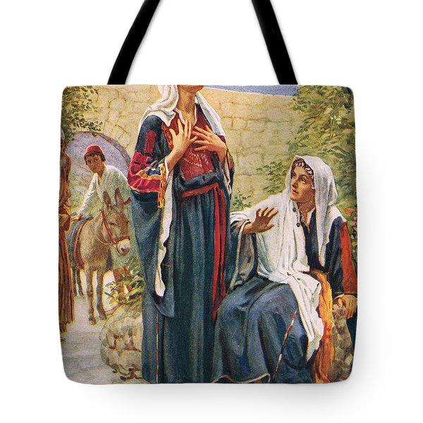 Elizabeth Tote Bag by Harold Copping