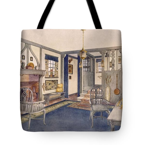 Elizabethan Style Entrance Hall Tote Bag