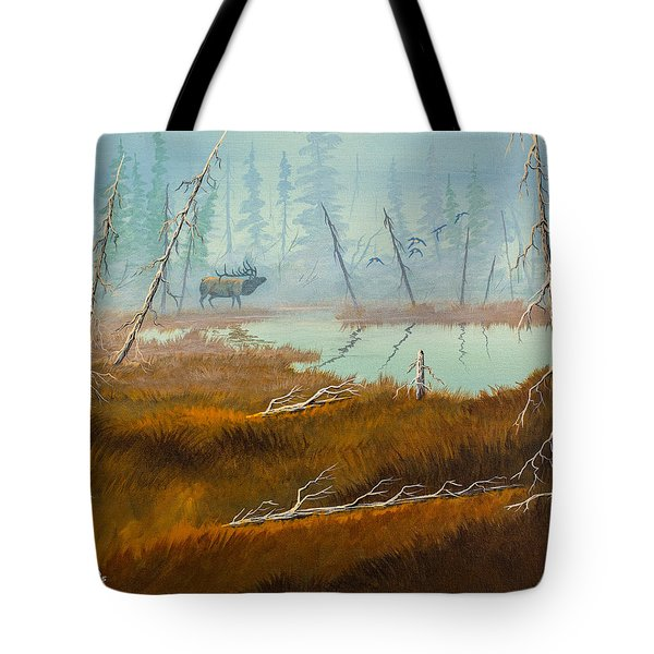 Elk Swamp Tote Bag