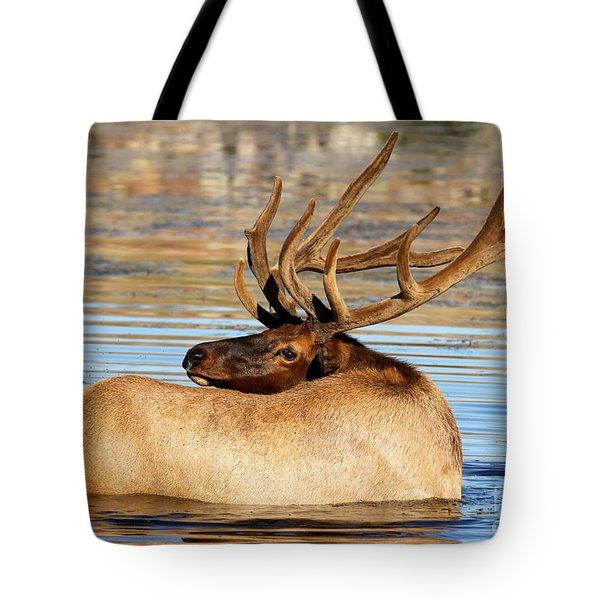 Elk Velveteen  Tote Bag