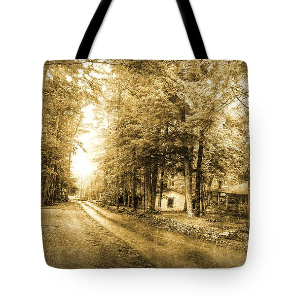 Elkmont Ghost Town Tote Bag