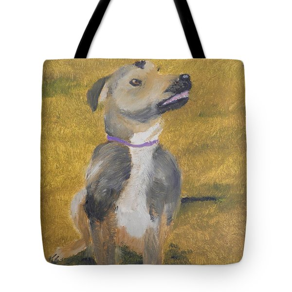 Tote Bag featuring the painting Ella by Pamela  Meredith
