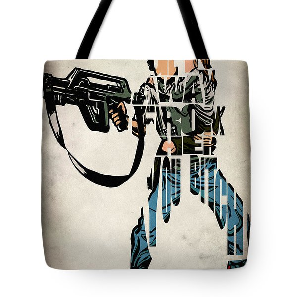Ellen Ripley From Alien Tote Bag
