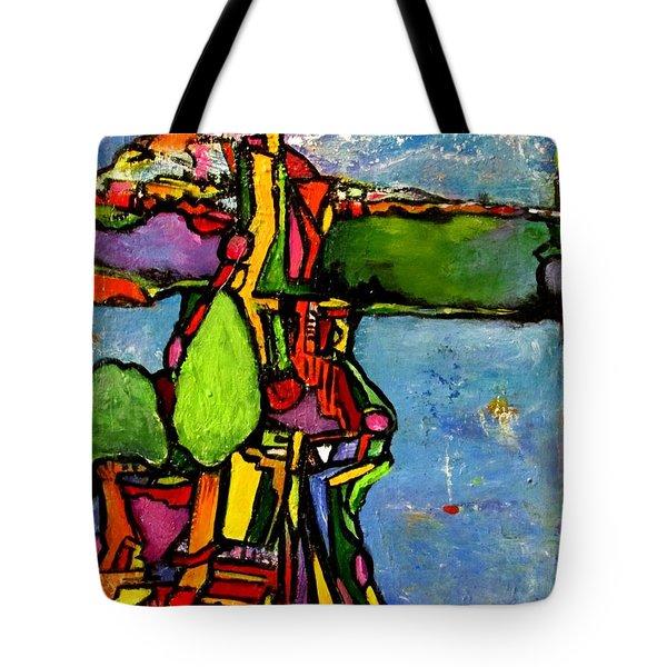 Elliott Bay Tote Bag by Chaline Ouellet