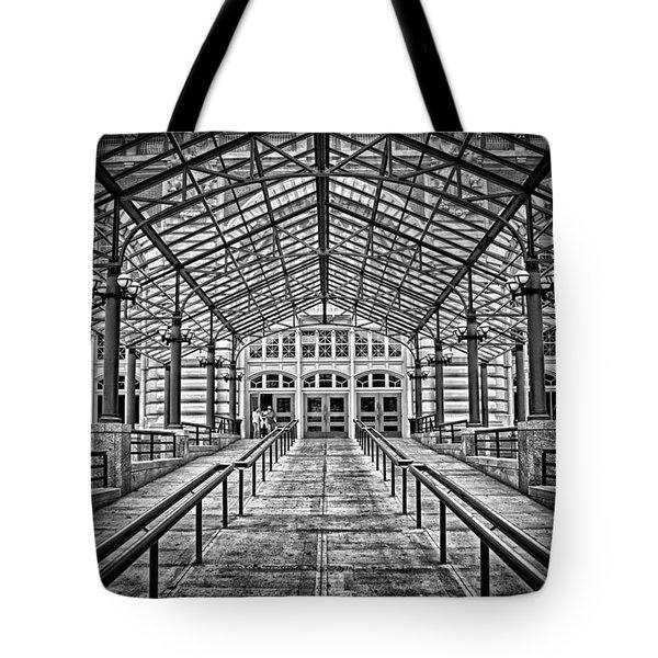 Ellis Island Entrance Tote Bag