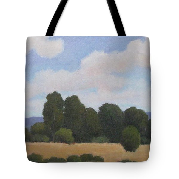 Tote Bag featuring the painting Ellwood by Jennifer Boswell