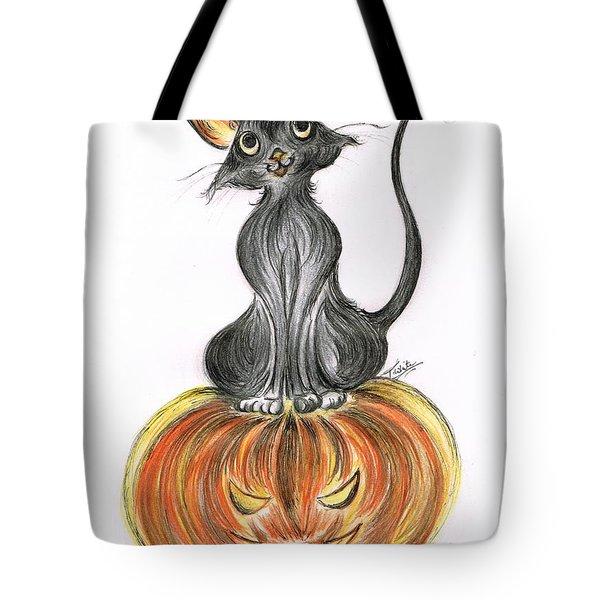 Elma's Pumpkin Tote Bag