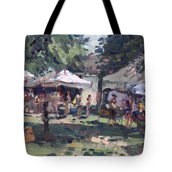Elmwood-bidwell Farmers Market Tote Bag
