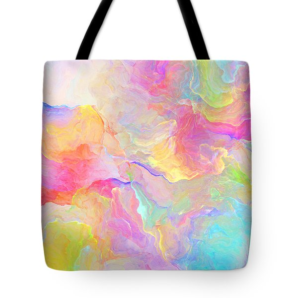 Eloquence - Abstract Art Tote Bag by Jaison Cianelli