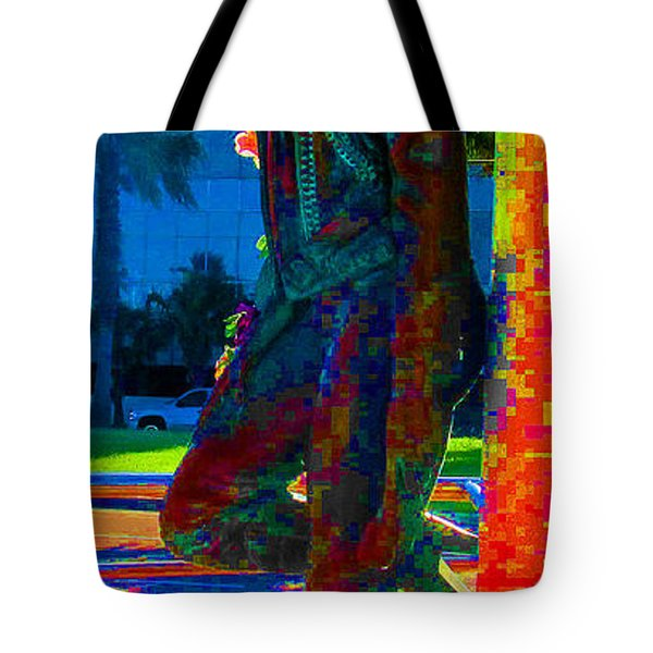 Eloquence Tote Bag by Tina M Wenger