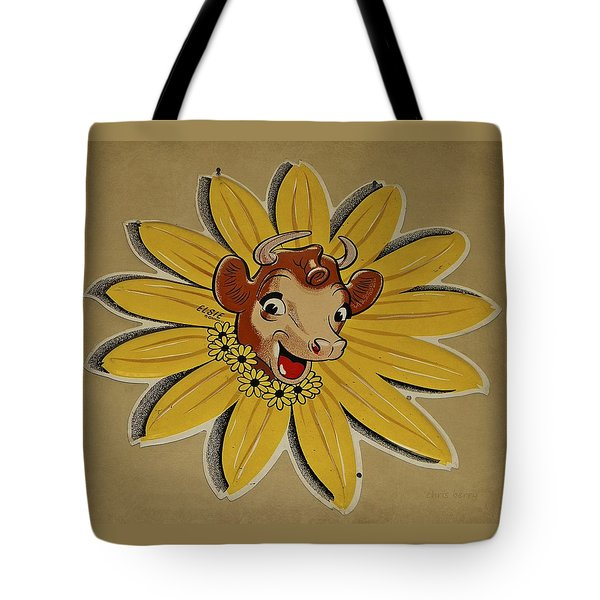 Elsie The Borden Cow  Tote Bag