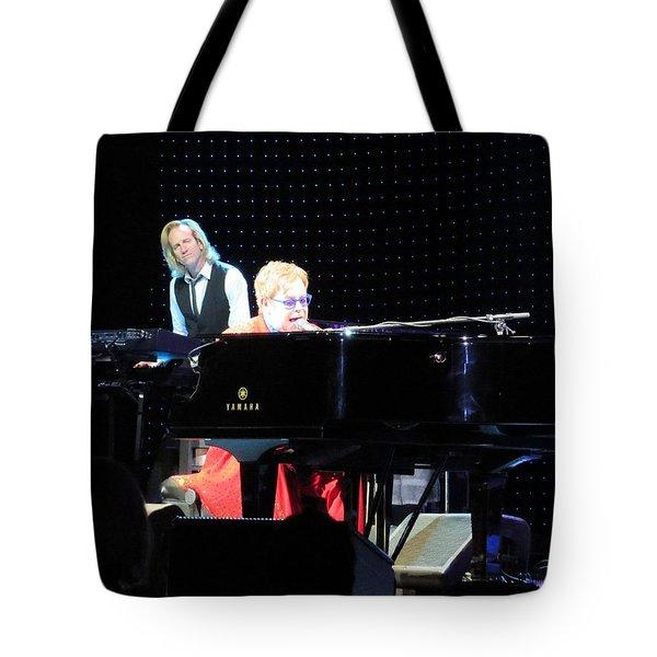 Elton Being Elton Tote Bag by Aaron Martens