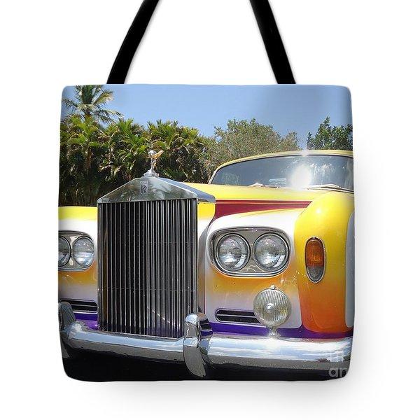 Elton John's Old Rolls Royce Tote Bag