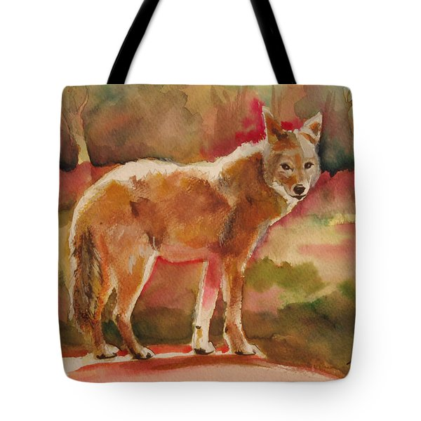 Elusive Visitor Tote Bag