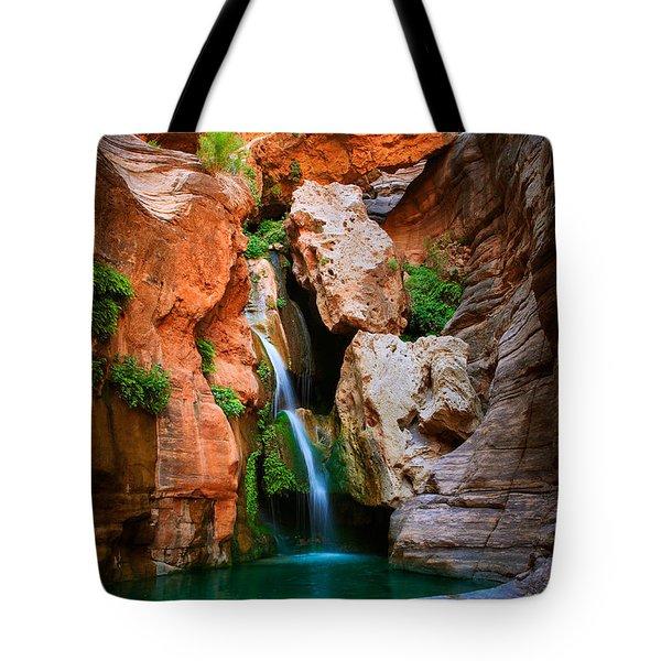 Elves Chasm Tote Bag