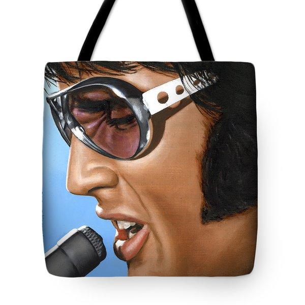 Elvis 24 1970 Tote Bag